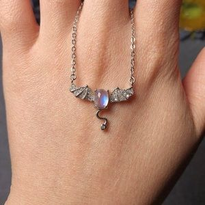 Jewelry - ❗️Sale❗️sterling silver moonstone necklace